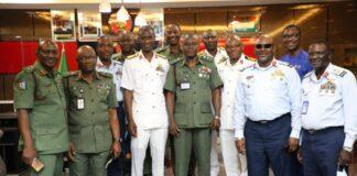 COAS General Faruk Yahaya Coursemates