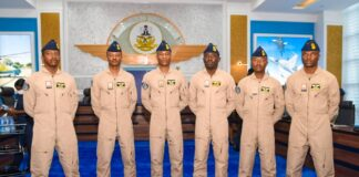 NAF Helicopter Pilots