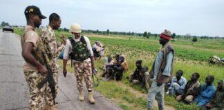 Boko Haram ISWAP Surrender to Nigerian Troops