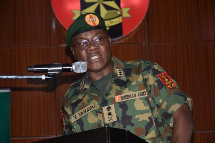 Chief of Army Staff, Lt Gen Faruk Yahaya