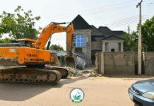 Church for demolition in Borno State, August 2021