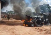 Ajali Police Station Anambra after attack by IPOB Member September 30, 2021