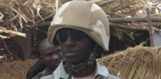 Colonel Auwal Suleman, award-winning counter-insurgency officer