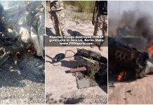 troops Destroy ISWAP guntrucks in Jere Borno State October 2021