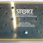 Storz 39301LL Endoscopy Extended Length Laparoscope Storage/ Sterilization Tray – Used