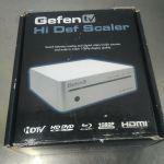 GenFen TV Hi Def Scaler – GTV-HIDEFS – For parts or not working