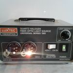 Luxtec Series 1300 Quartz Halogen FiberOptics Universal Light Source – Used