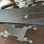 Oakworks CFPMFXH Integrated Headrest C-Arm Table – Used