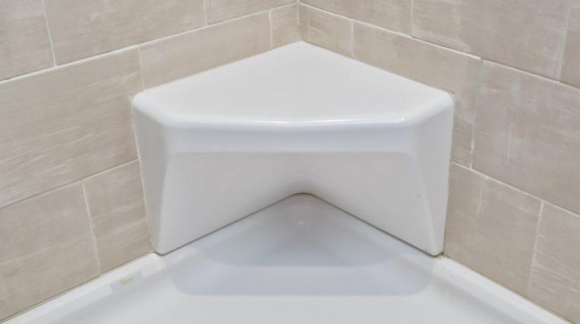 a corner shower seat installation san