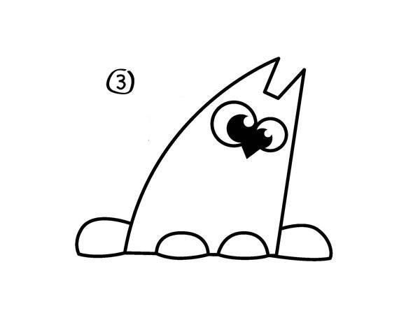 04. Как нарисовать кота – мультяшный вариант