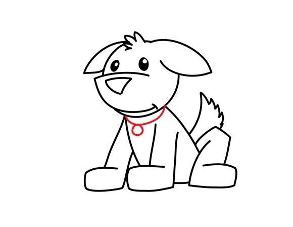 01. Как нарисовать собаку в мультяшном стиле