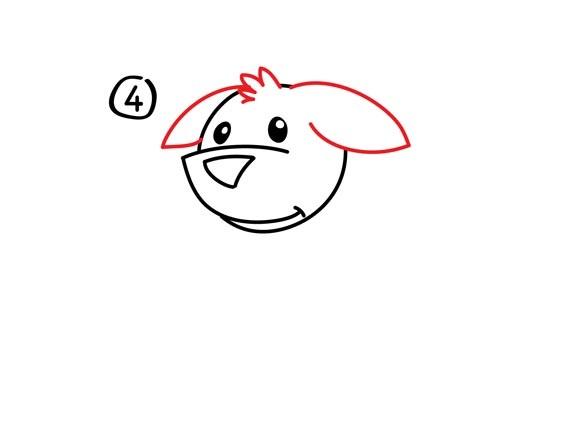 05. Как нарисовать собаку в мультяшном стиле