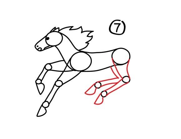 08. Как нарисовать лошадь