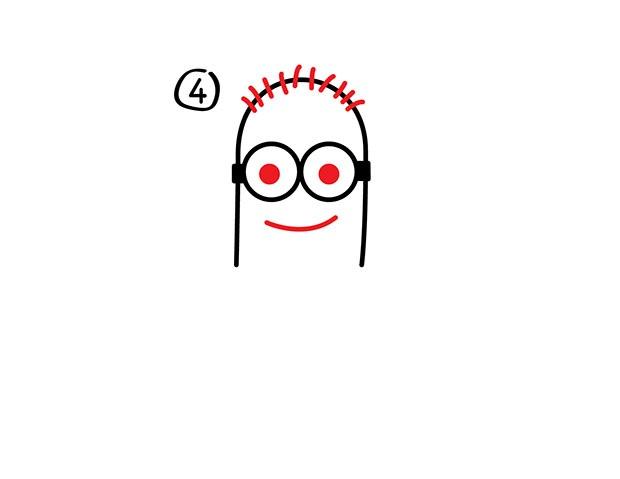 07. Как нарисовать миньона быстро и легко!