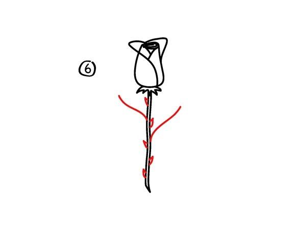 04. Как рисовать розу – самый простой способ