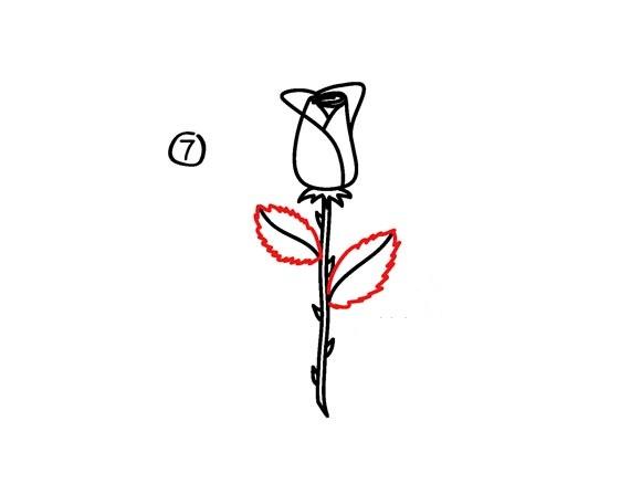 03. Как рисовать розу – самый простой способ