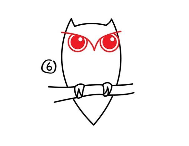 07. Как нарисовать сову – быстро и просто!