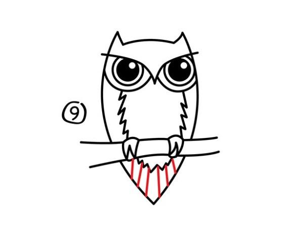 10. Как нарисовать сову – быстро и просто!