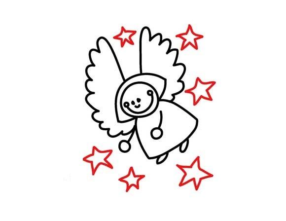 01. Как нарисовать ангела вместе с детьми