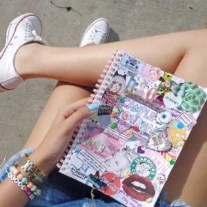 девушки и личный дневник