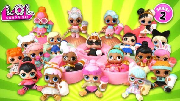 Куклы ЛОЛ-Вторая серия