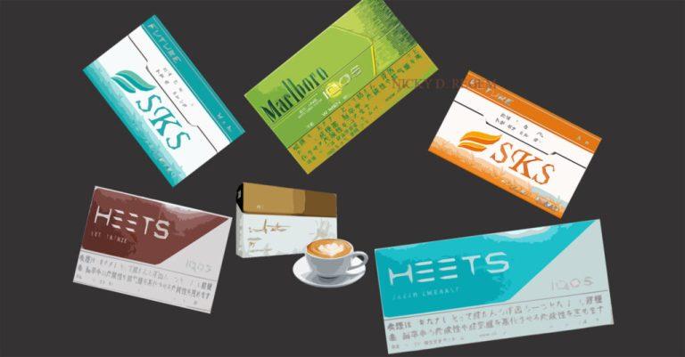 Все вкусы и стики для IQOS: безникотиновые и с никотином