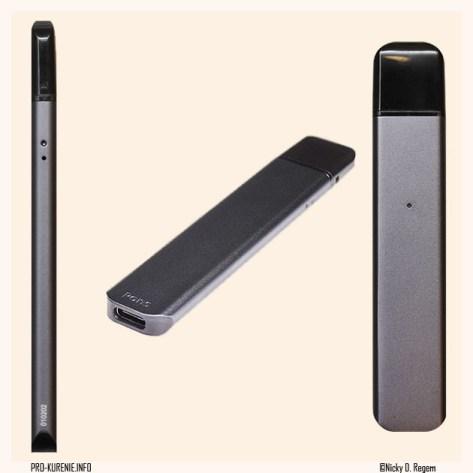 Внешний вид Pods Basic Kit, электронная сигарета pons, форм-фактор