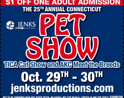 Visit Pro-Leash at the Hartford Pet Show Oct 29th-Oct 30th