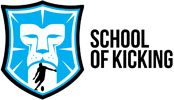 school of kicking logo