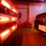 2018/7 メルセデス・GLC フロントバンパーへセラミックプロ9H 4レイヤー再施工