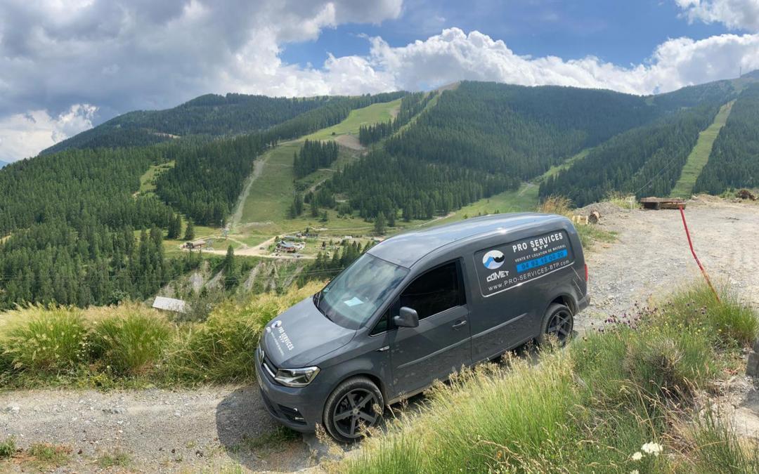 Pro Services BTP en soutien technique dans les vallées