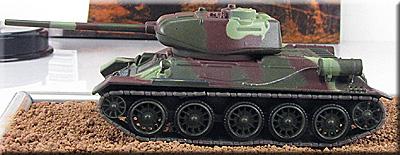 Русские танки. Выпуск № 13. Модель номера Т-34-85