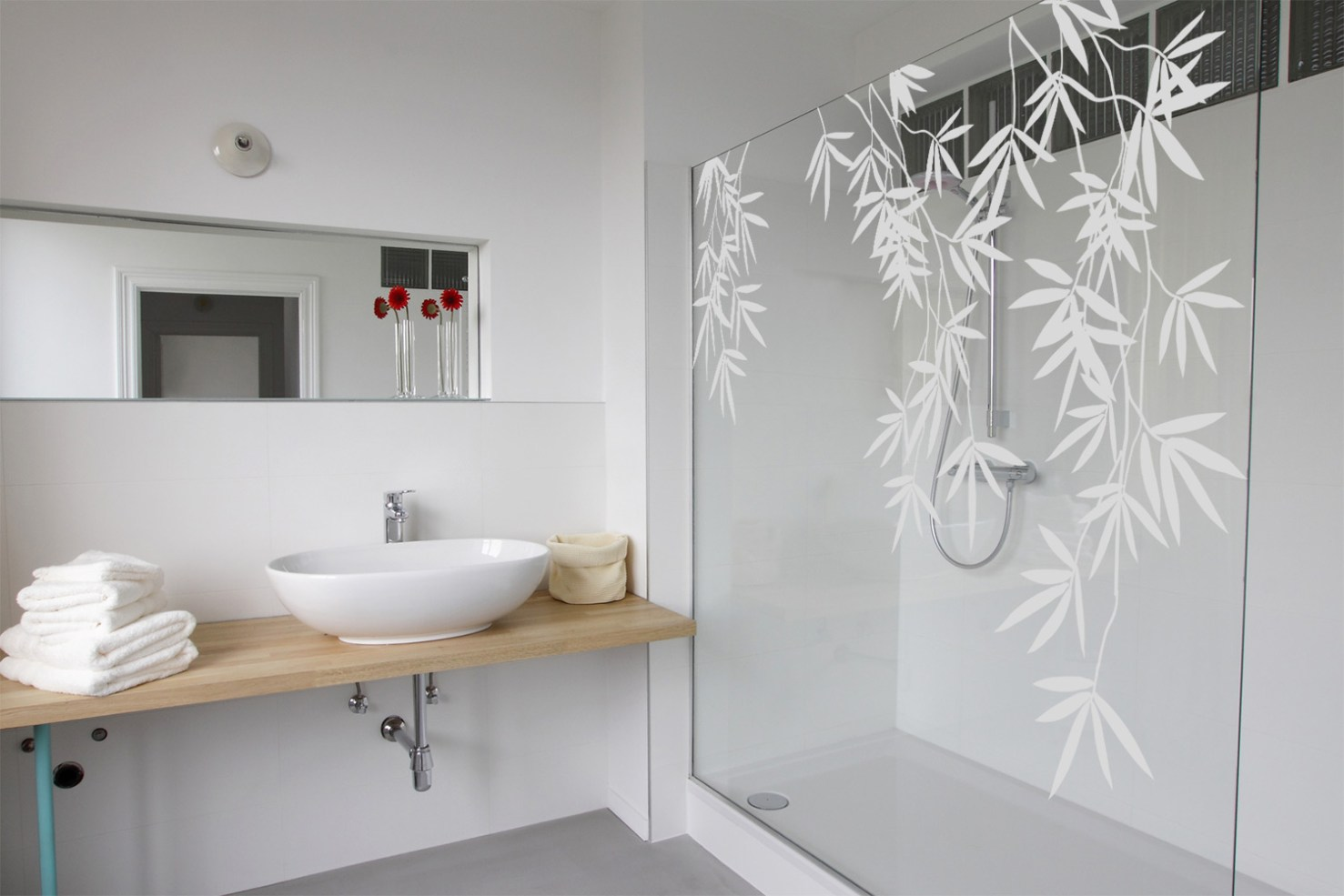 Films pour vitres Bambou floral