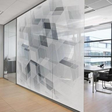 Tissus adhésifs pour vitres SQUID imprimés