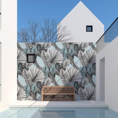 Papier peint panoramique Tropical