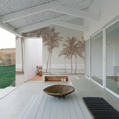 Papier-Peint Extérieur Palm trees - Studio Romiche