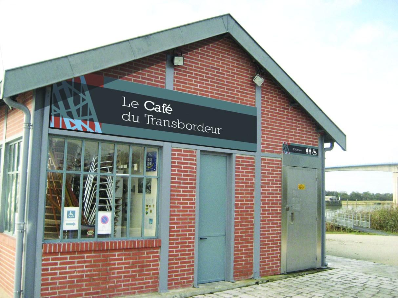 Le Café du Transbordeur (Rochefort) - Création PGO STUDIO GRAPHIQUE