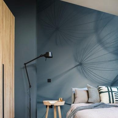Papier peint Dandelion blue