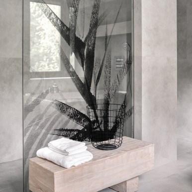 Film décoratif pour vitrage Abstract foliage