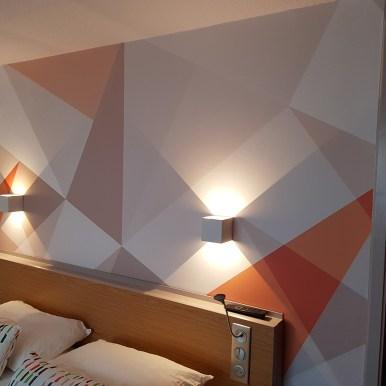 Papiers peints Geometric - Hôtel Les Balladins