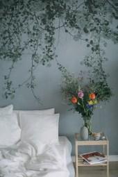 Papiers peints panoramiques Blurry Green