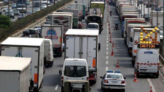 Περιορισμοί κυκλοφορίας φορτηγών