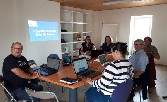 Atelier Google My Business avec Aurélie Belaz