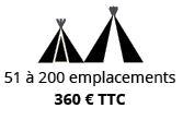 Grand pack Camping emplacements petits