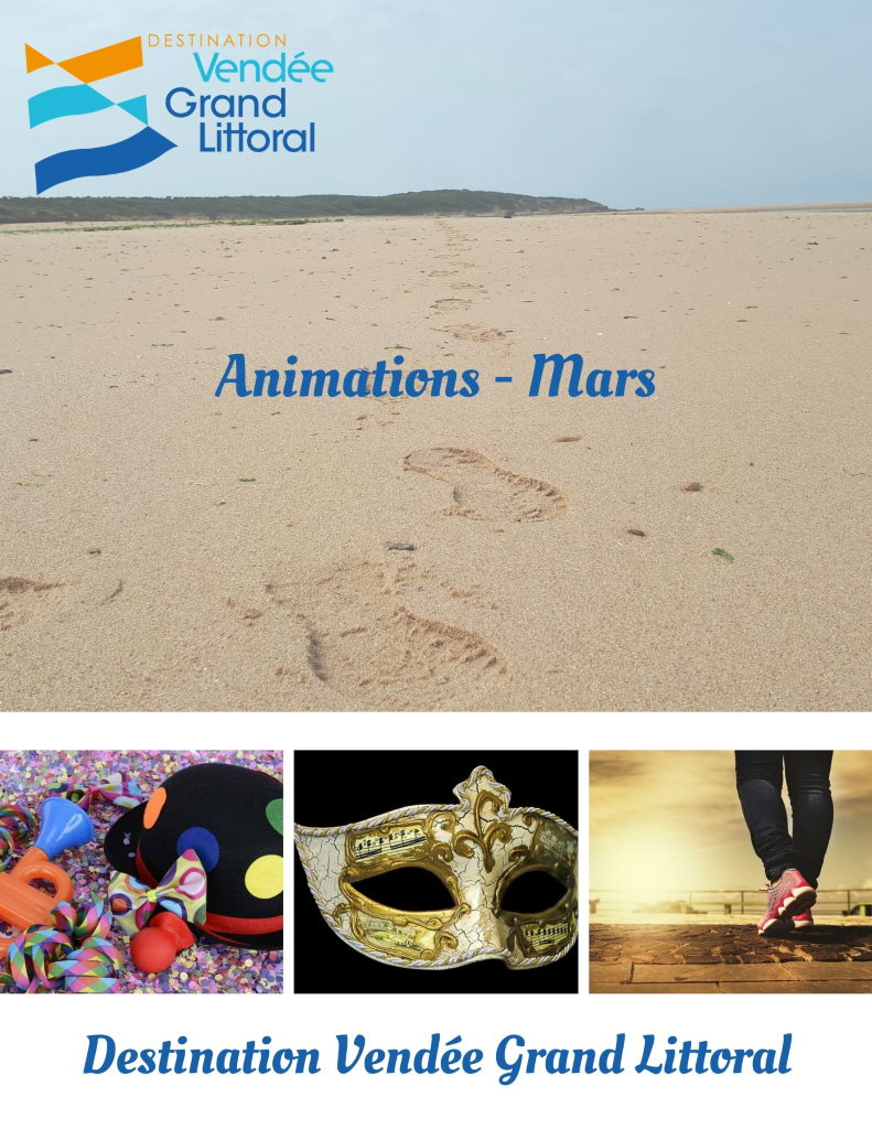 Animations - Mars 2020 Destination Vendée Grand Littoral