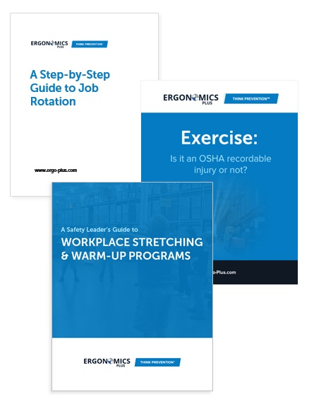 Ergonomics and Injury Prevention Guides and Ebooks