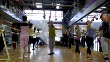鶴原谷圭のジャズとバレエのワークショップ2014