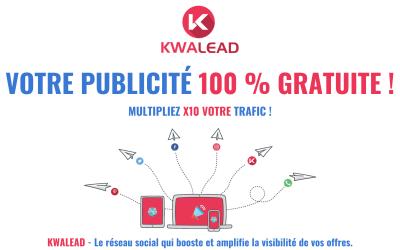 Votre publicité gratuite sur le réseau social kwalead