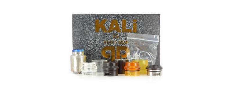 Kali V2 RDA : Contenu de la boîte