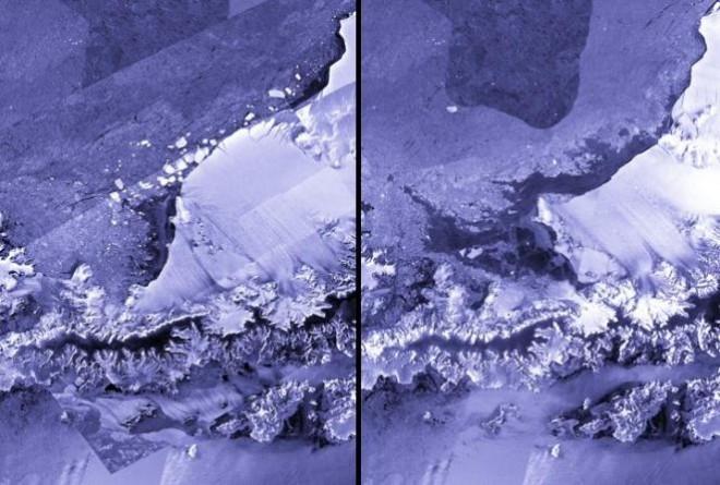 ледника Ларсена